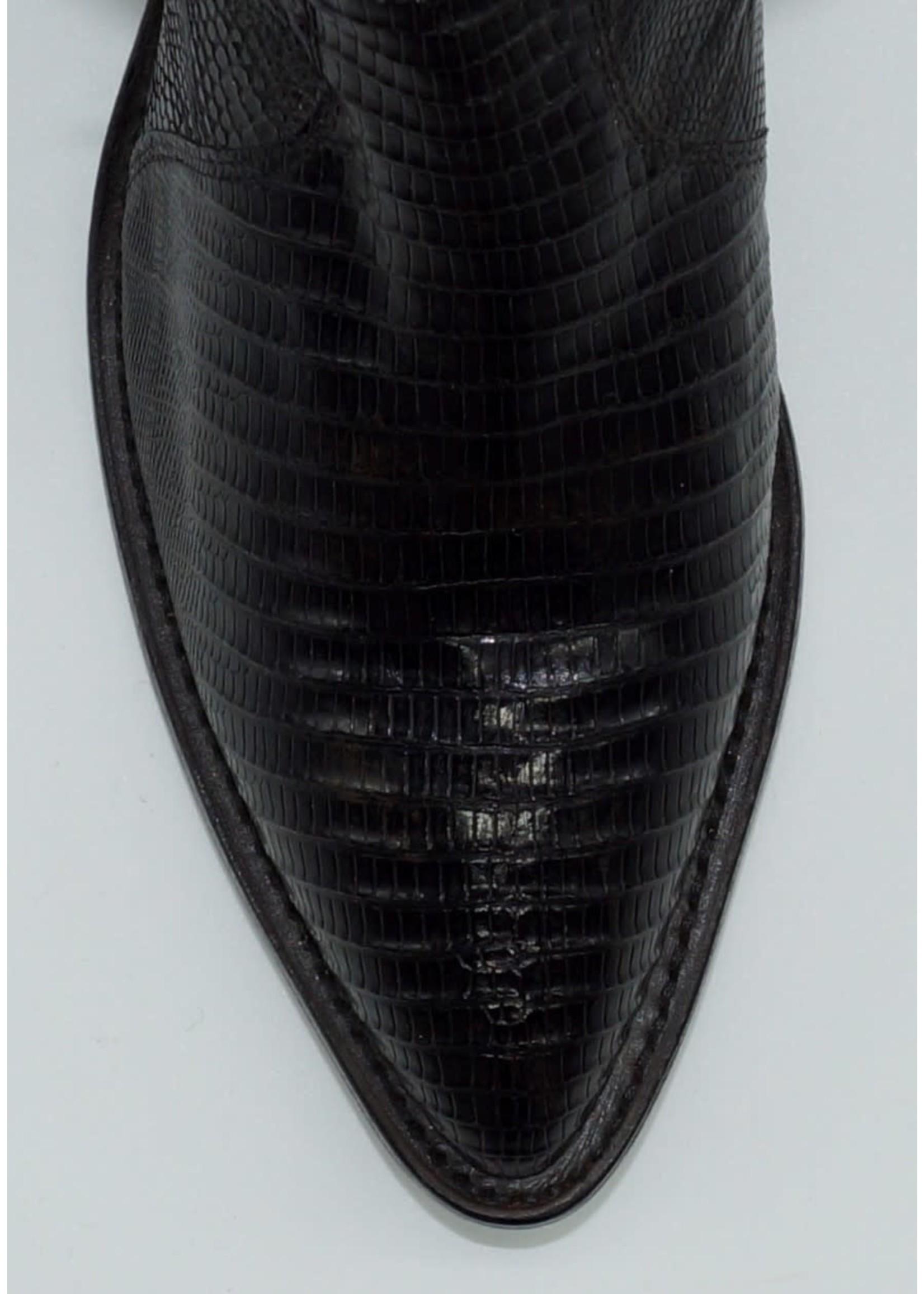 Tony Lama Men's Black Lizard Y2080