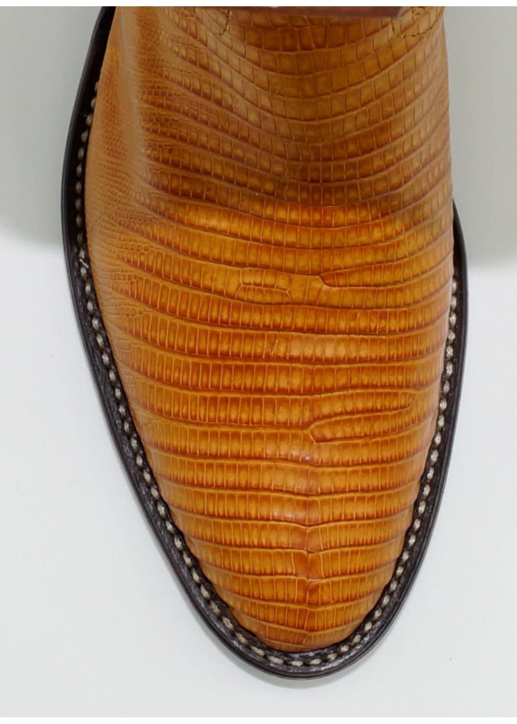 Tony Lama Men's Buttercup Lizard Y1306