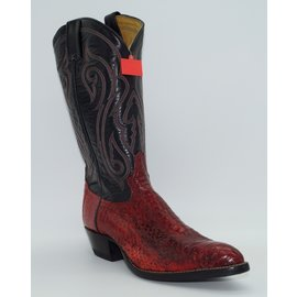 Tony Lama Y8943-Viper Snake - Red