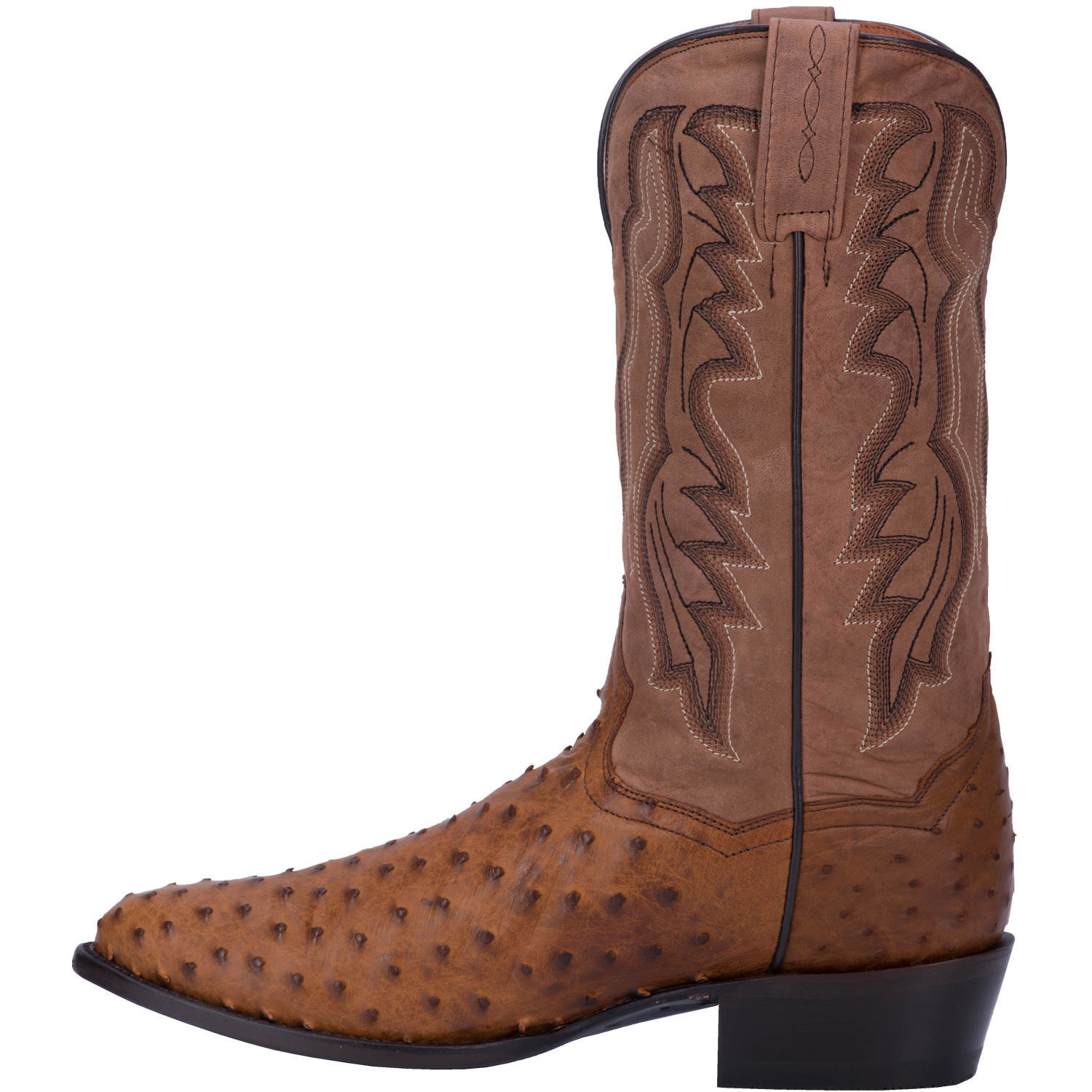 01a60ef662b Dan Post - MEN'S TEMPE FULL QUILL OSTRICH BOOT DP2323