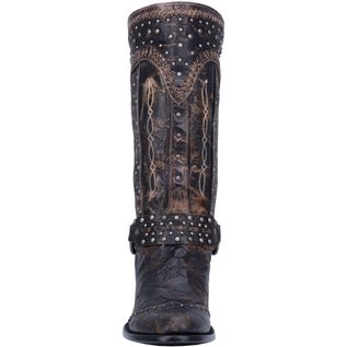 Dan Post WOMEN'S SEXY BACK LEATHER BOOT DP3720