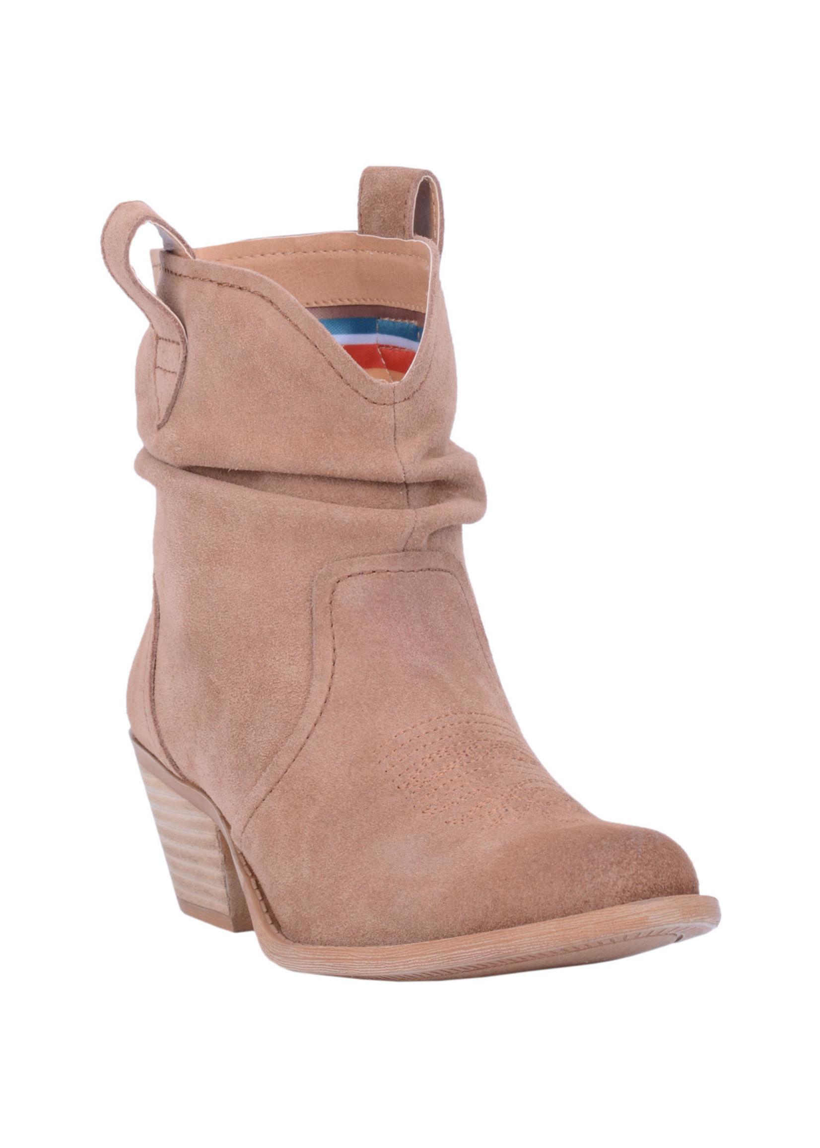 Dingo Women's Jackpot Slouch Ankle Bootie DI132