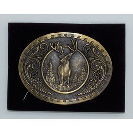 Attiude Buckles Antique Brass  Buck