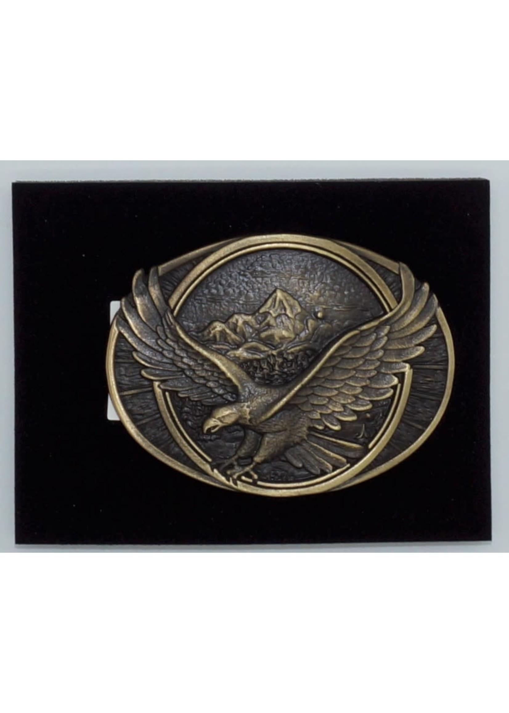 Attiude Buckles Soaring Eagle Heritage Attitude Belt Buckle 60791C