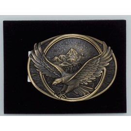 Attiude Buckles Antique Brass -Soaring Eagle