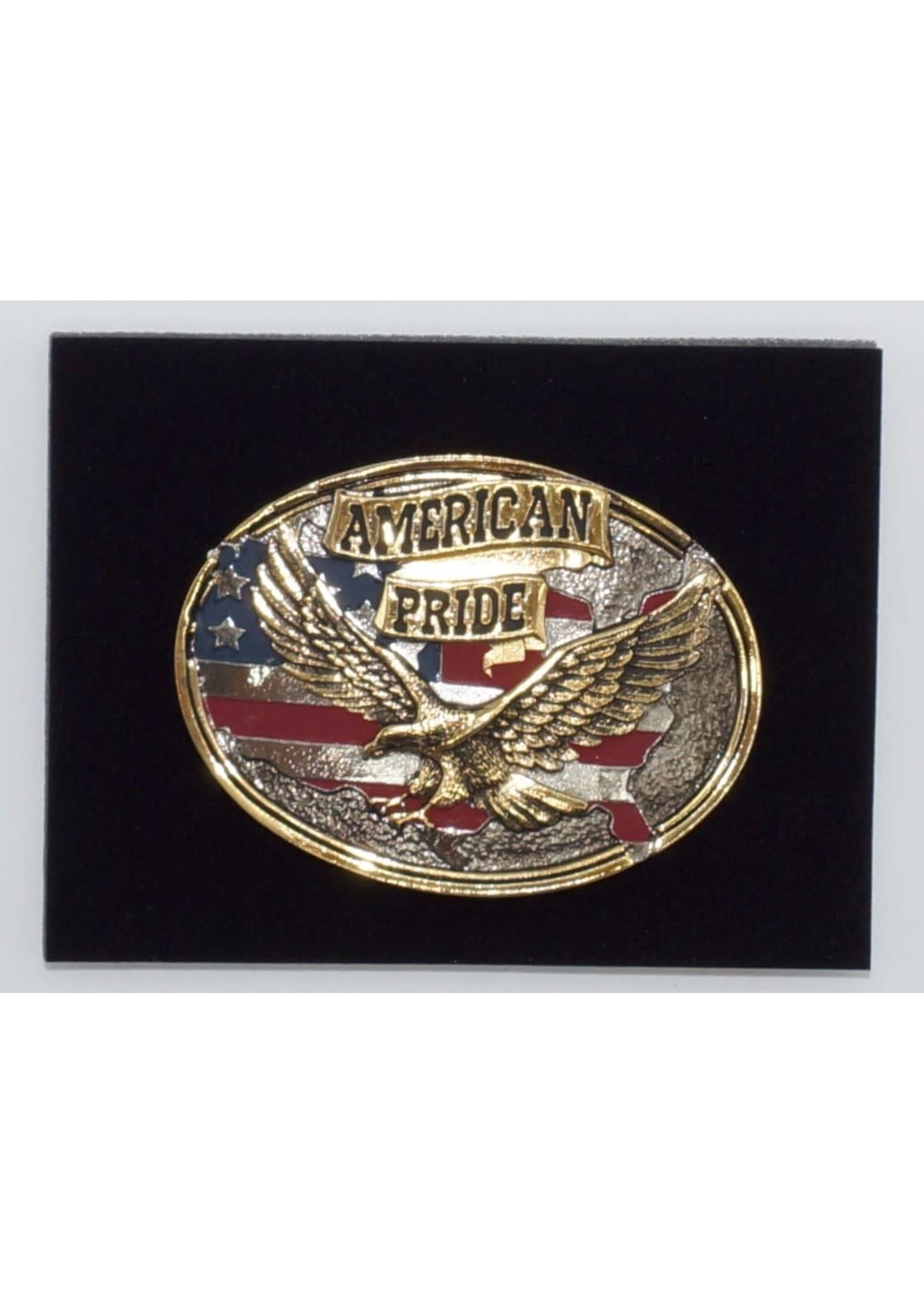 Attiude Buckles American Pride Attitude Belt Buckle 60806P