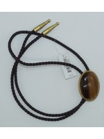 M&F 22840 - Bolo-Ties/Rope Edge Tiger Eye