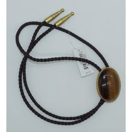 M&F Bolo-Ties/Rope Edge Tiger Eye