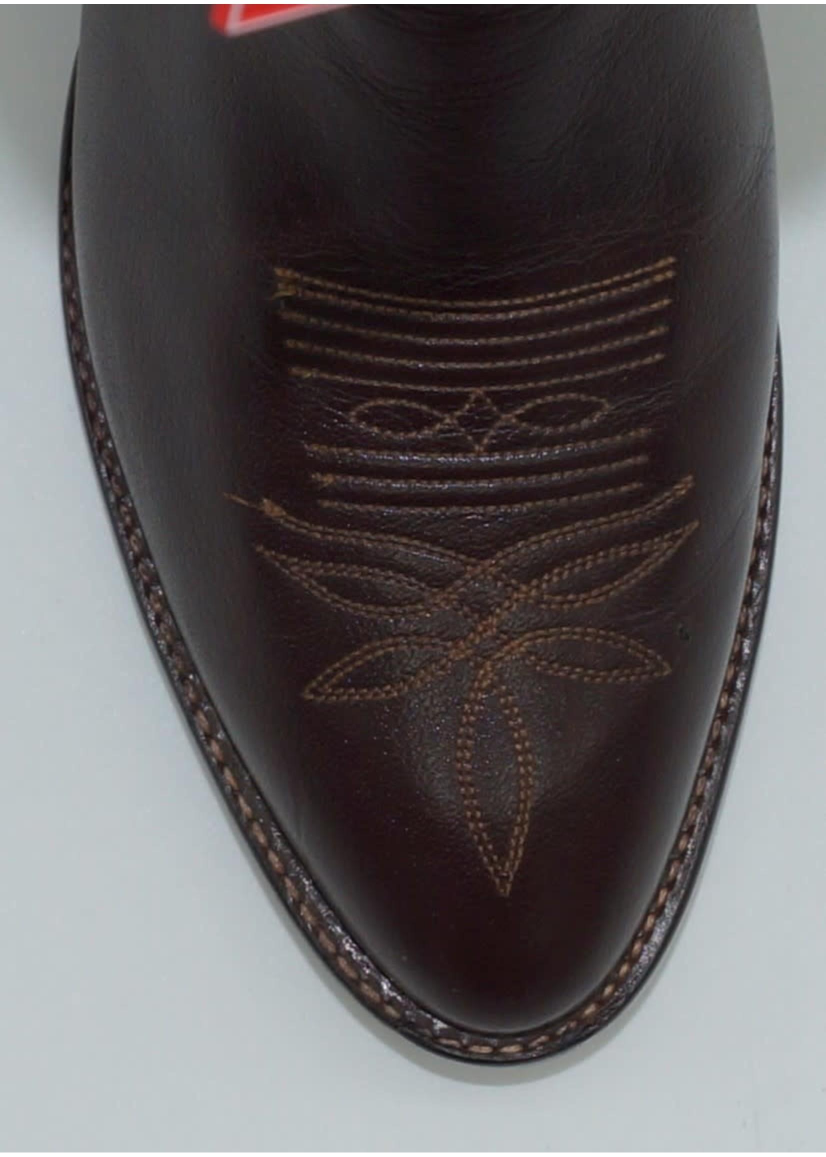 Tony Lama Longhorn Chocolate 2911