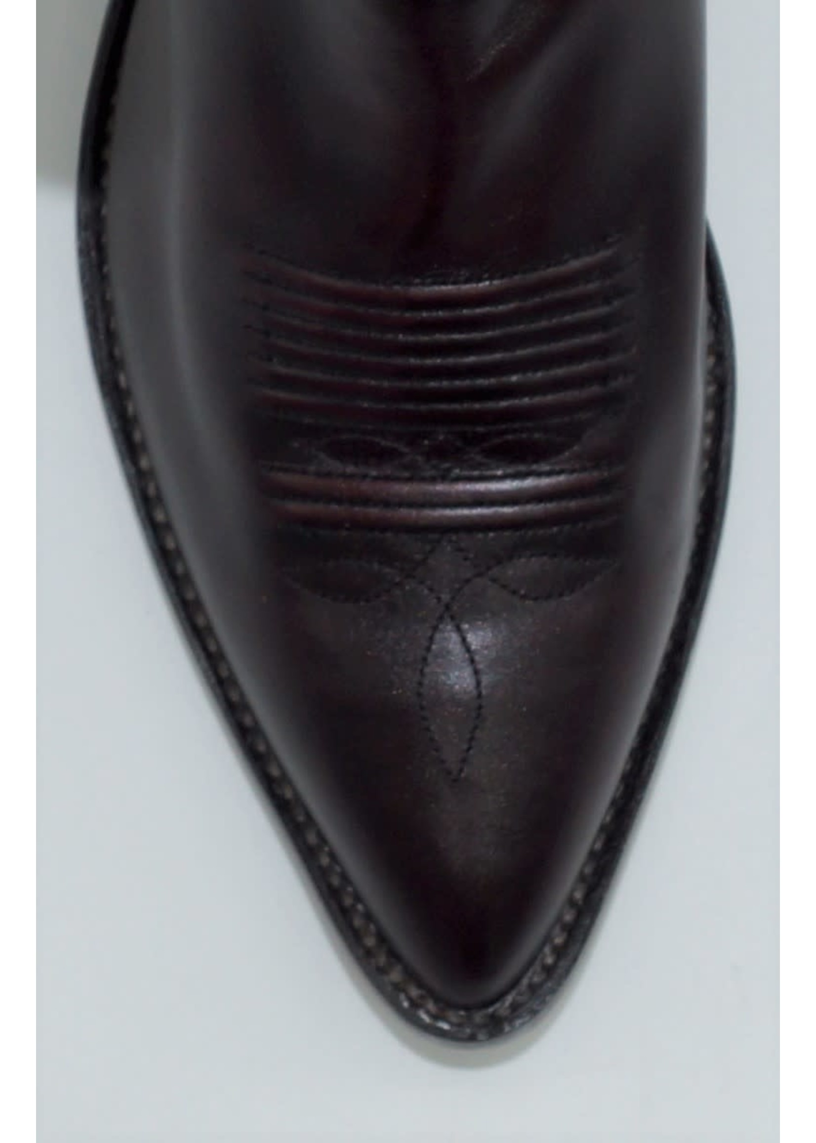 Tony Lama Black Cherry Pampas VM2997
