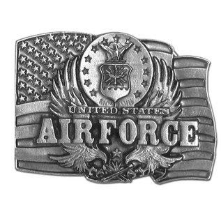Siskiyou Gifts Air Force Antiqued Belt Buckle