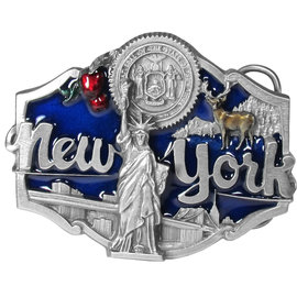 Siskiyou Gifts New York Enameled Belt Buckle R55E-MH