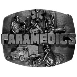 Siskiyou Gifts Paramedic Antiqued Belt BuckleO6-BKL