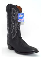 Justin Ranch Calf Black 2656
