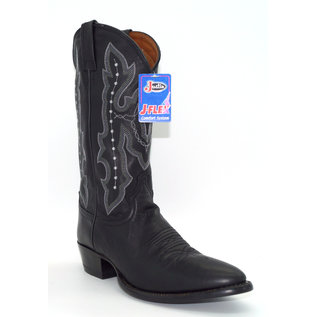 Justin Ranch Calf Black 2656