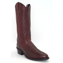 Justin Cowhide Black Cherry 2414