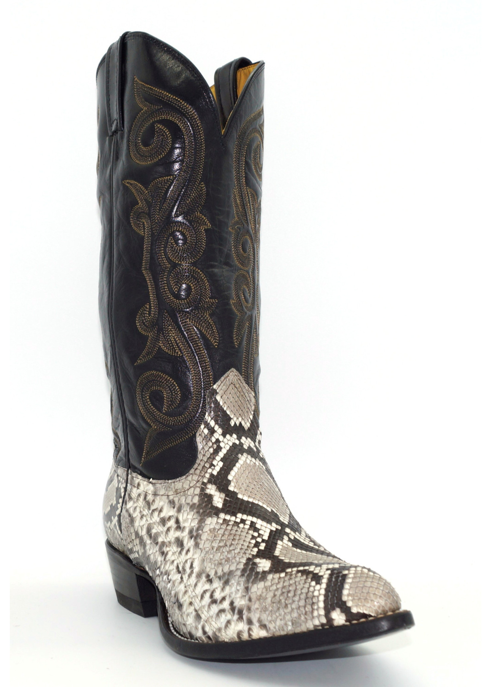 Nocona Natural Back Cut Python 2047303