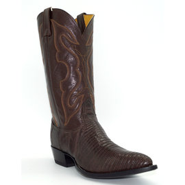 Nocona Dark Brown Lizard 1536303