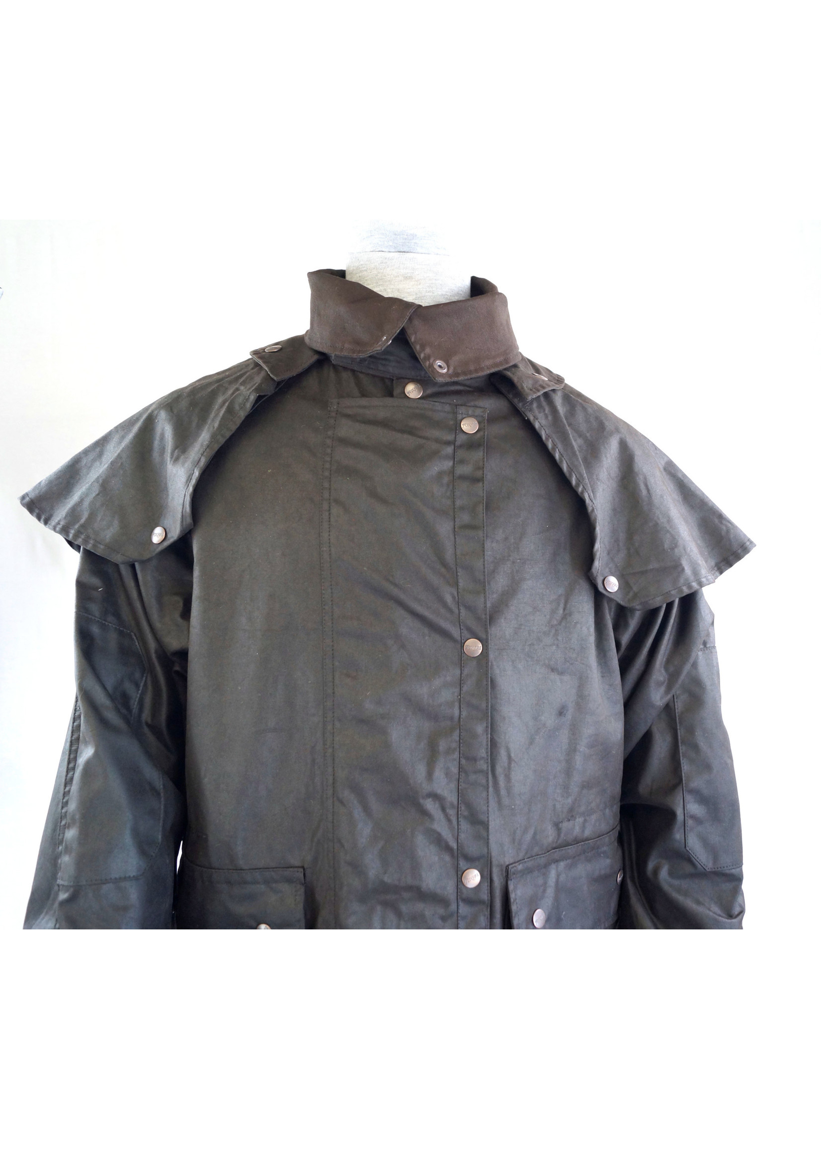 Brown Australian Outback Long Duster Jacket