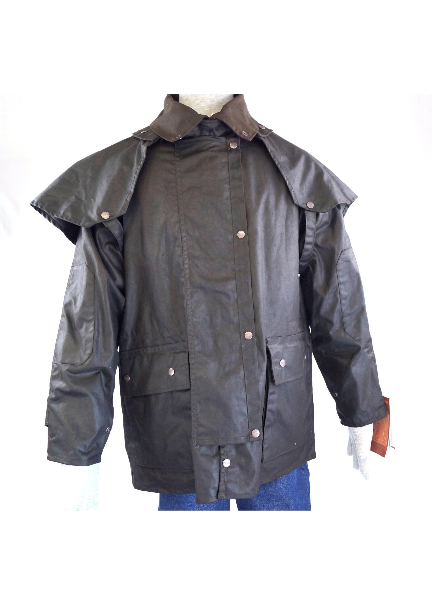 Brown Australian Outback Short Duster Jacket