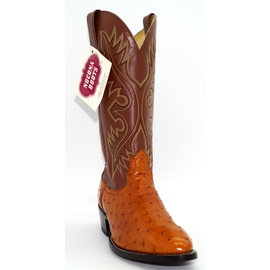 Nocona Men's Cognac Ostrich Boot -NM1001