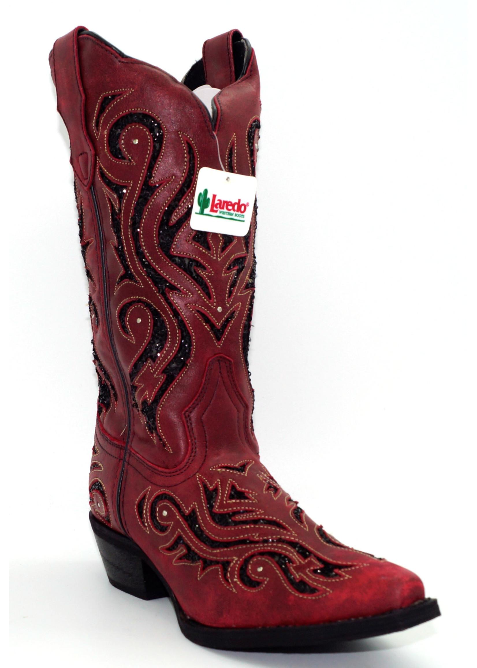 Laredo WOMEN'S WILD THANG LEATHER BOOT 52195