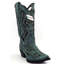 Laredo WOMEN'S WILD THANG LEATHER BOOT 52194