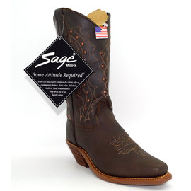 Sage Womens' Western Copper Rivet 4536