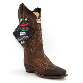 Abilene Women's Brown Cowhide Western 9108