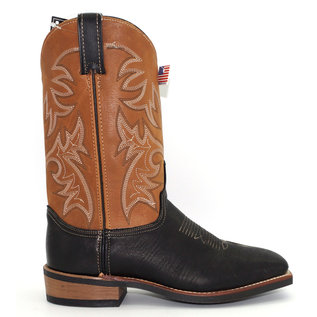 Sage Men's Two-Tone Western Boots 6846