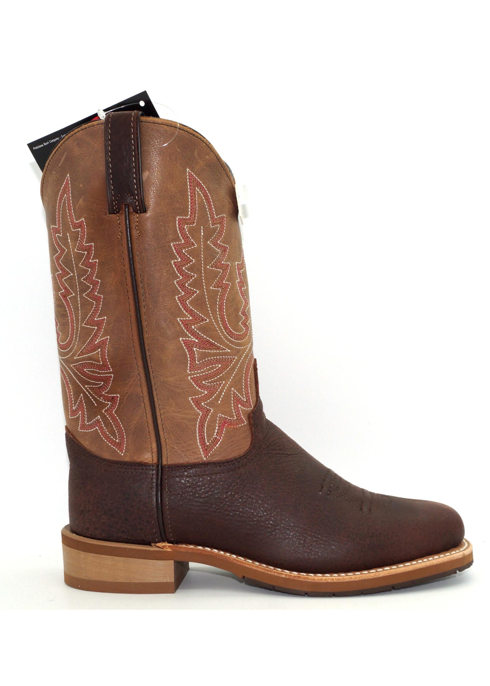 Abilene Men's Bison Two-Toned Western Boot 6844