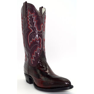 956- EEL Skin/ Black Cherry