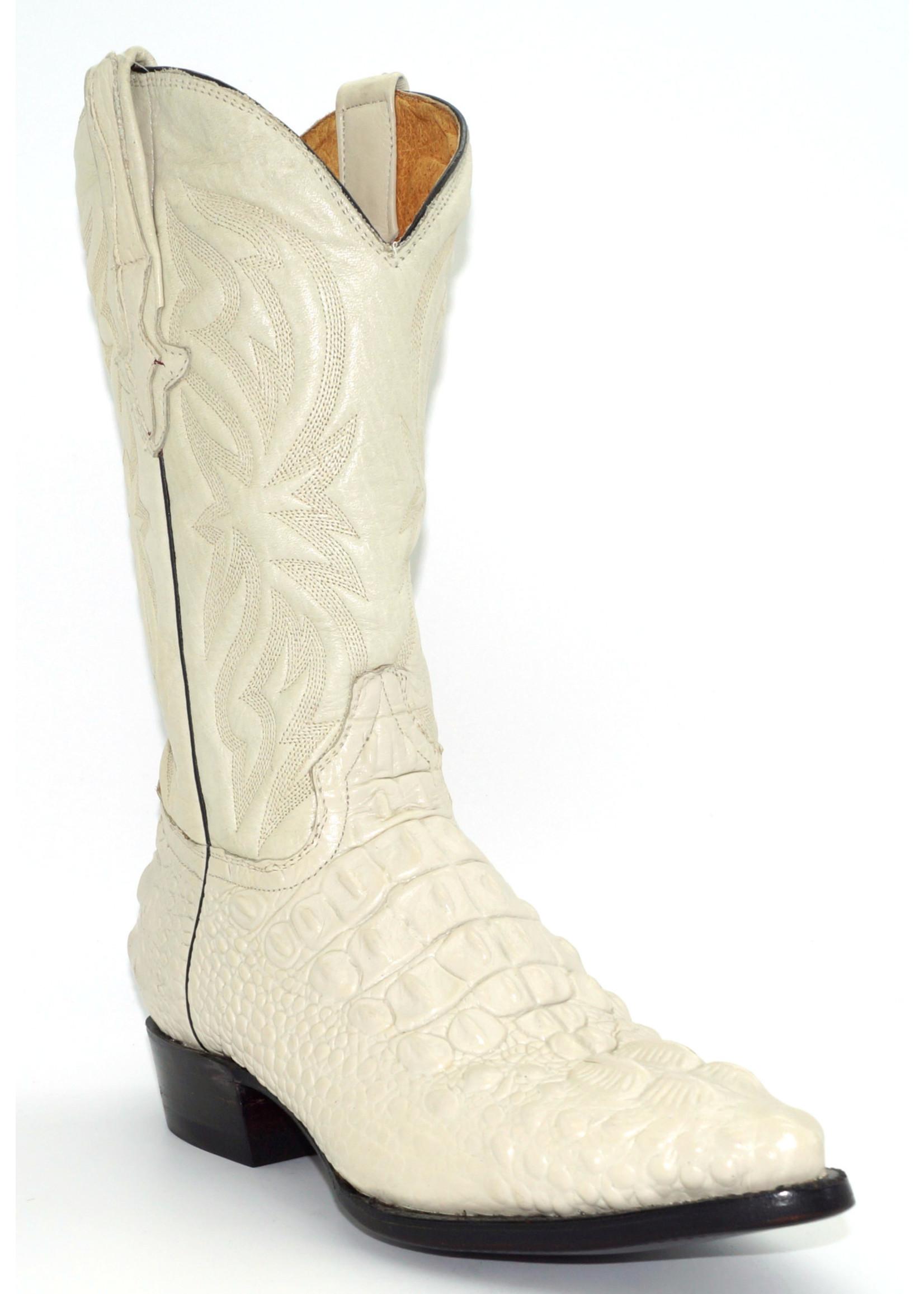 Men's Eggshell Crock  Print Boots 6029