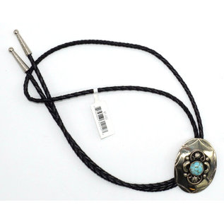 BT-202 / German Silver- Turquoise Stone