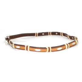 Justin 5309- Stockyards Hatband Brown