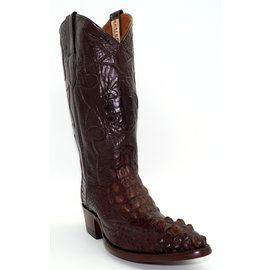 J8078- Crocodile Skin Brown