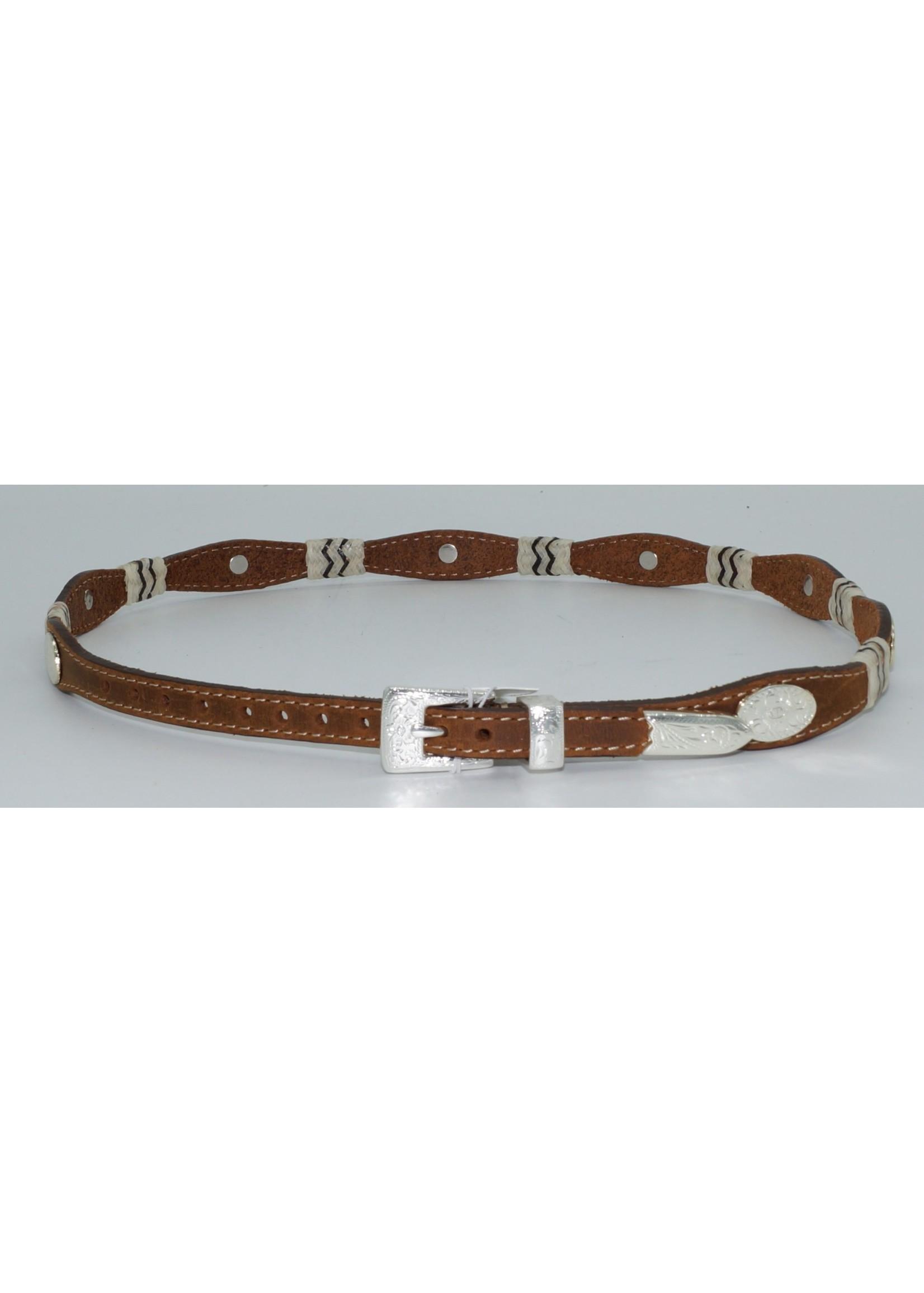Justin 5149-Buckaroo Hatband / Brown