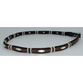 Justin 5303- Stockyards Hatband /Black