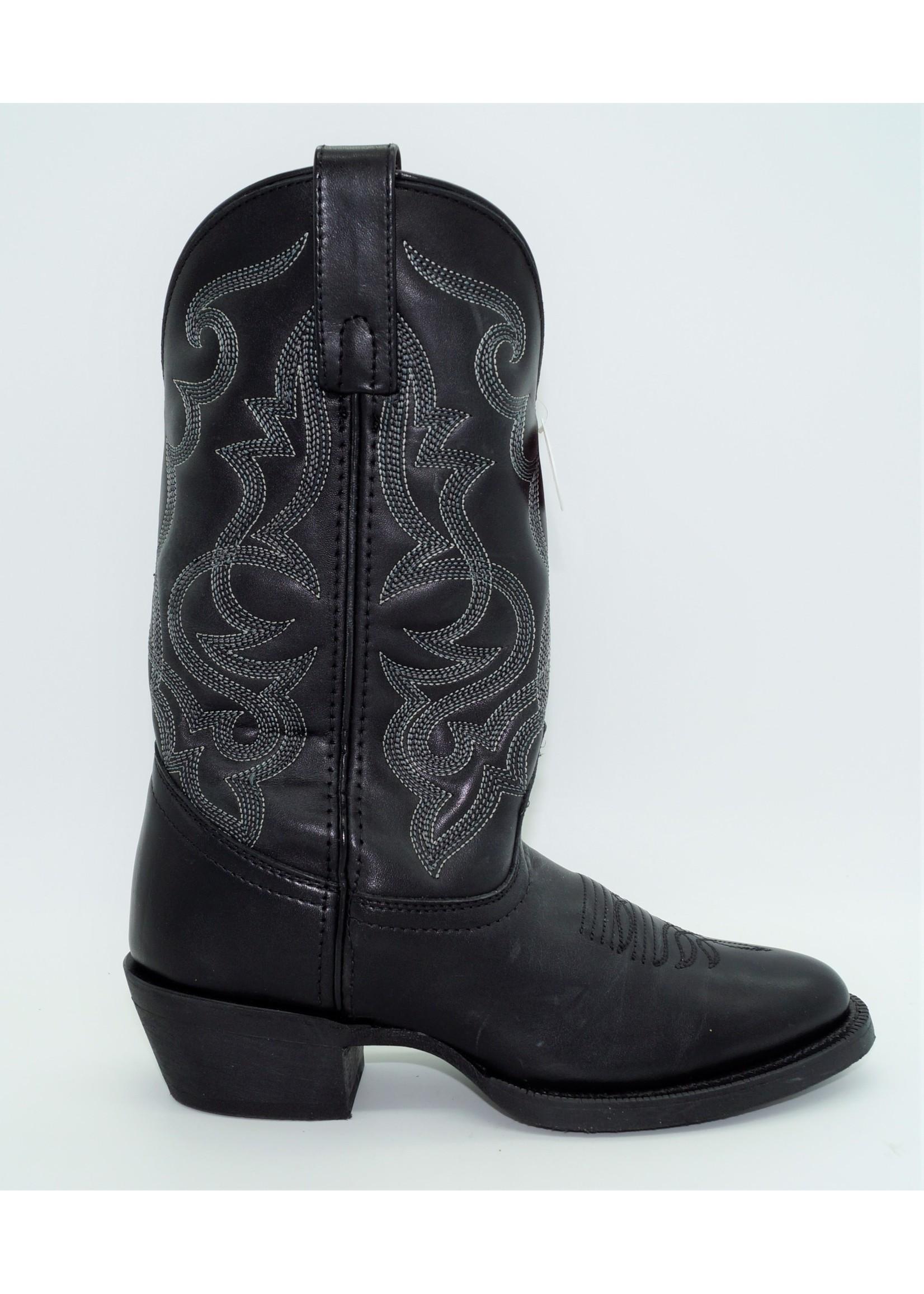 Laredo Women's Maddie Black Cowboy Boots - 51110