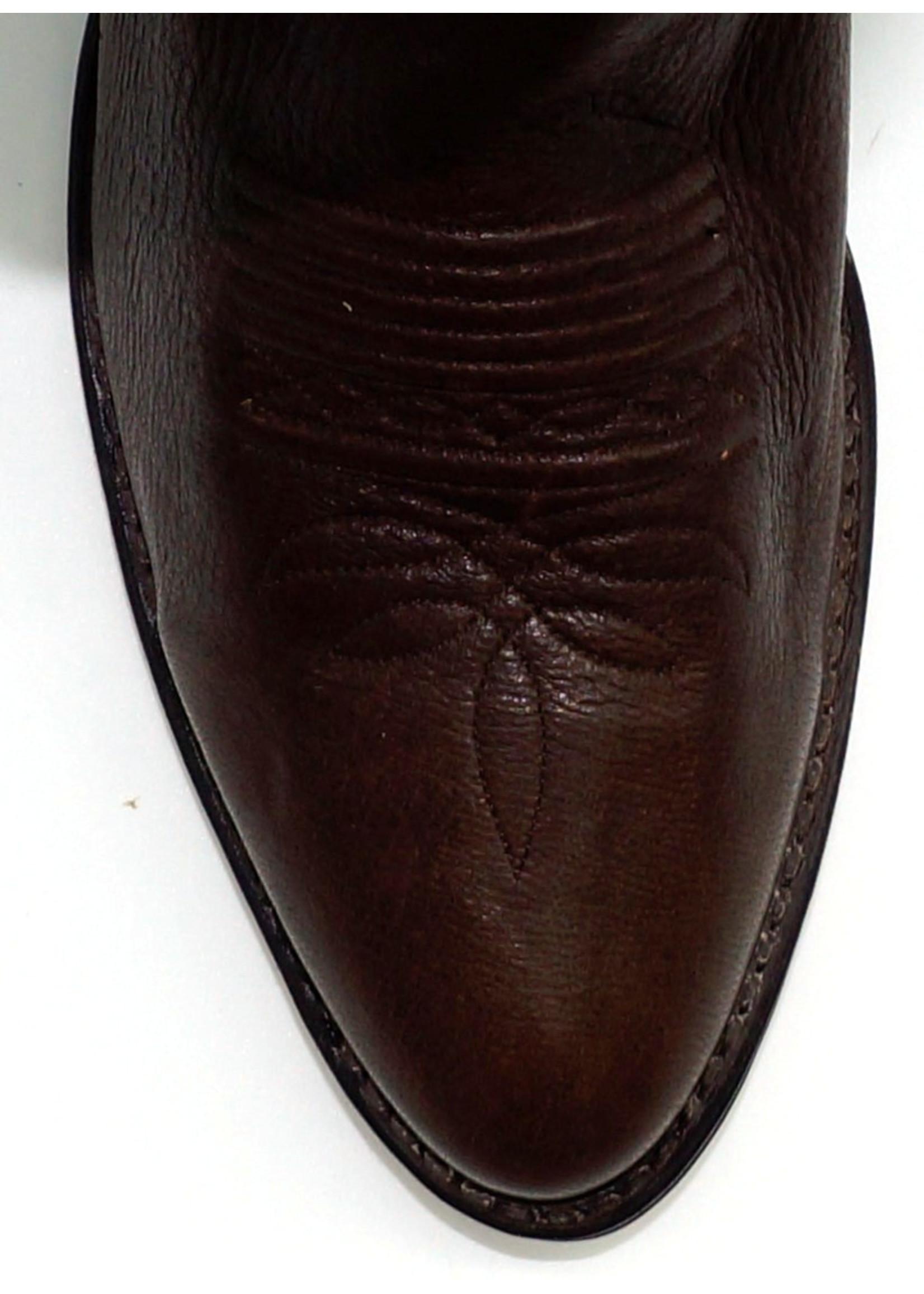 Dan Post 6543- Elk Skin / Chocolate Color