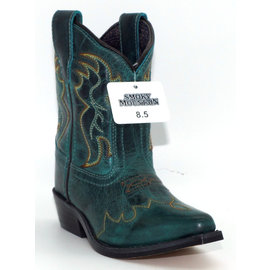 Smokey Mountain CHILDREN'S JUNIPER GREEN COWBOY BOOT - 3635C