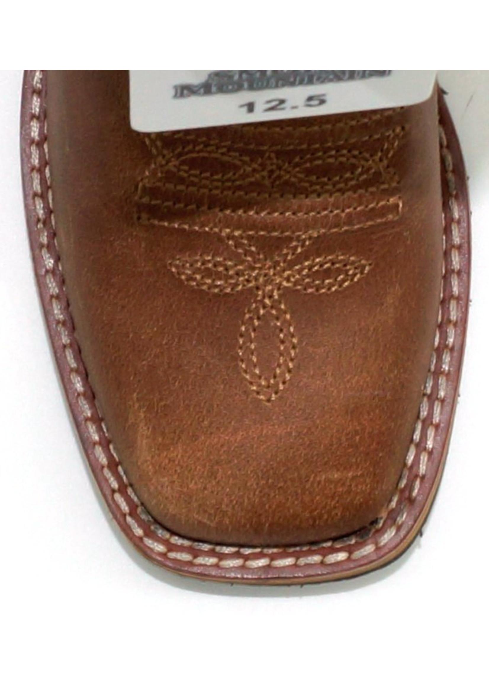 Smokey Mountain Children's Leroy Tan Leather - 3723C