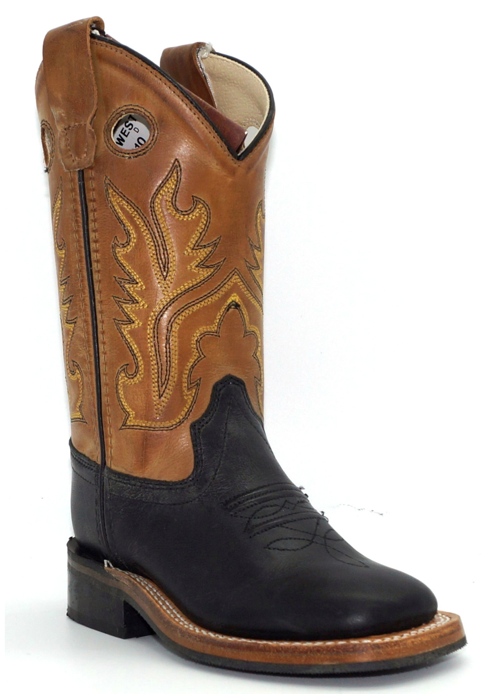 Old West Children's Calf Leather Western Boot BSC1810