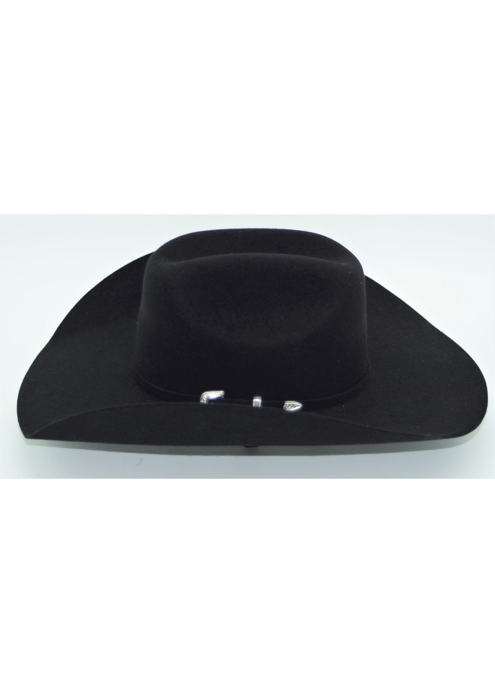 M&F T7532001- Laredo / Black Cattleman Crease