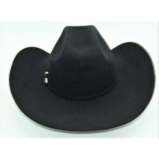 M&F Twister Laredo Black Cattleman Crease