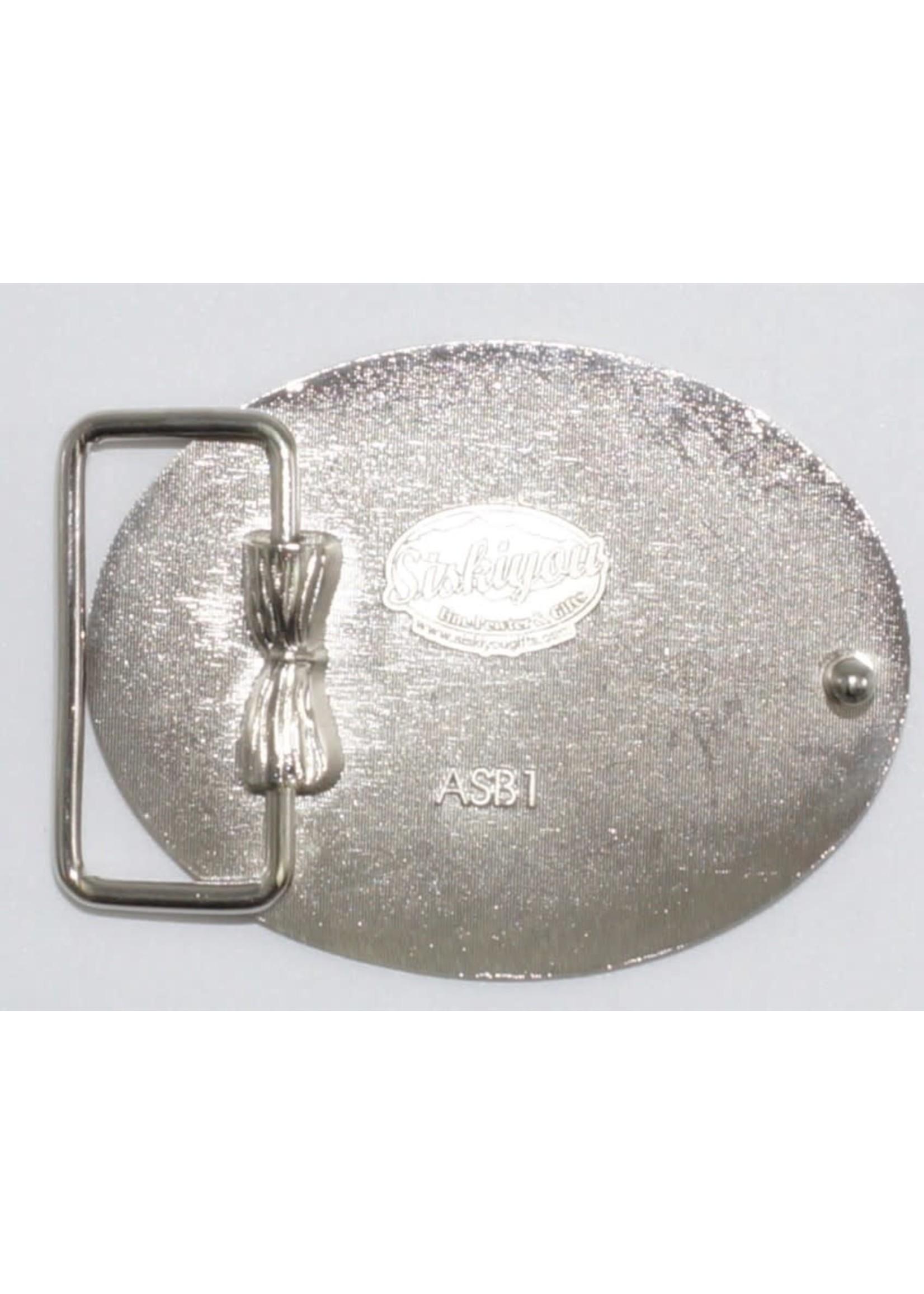Siskiyou Gifts USMC Enameled Belt Buckle ASB1E