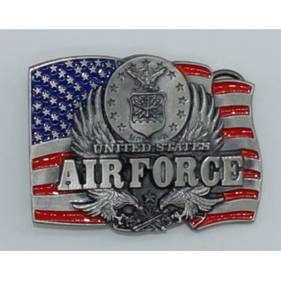 Siskiyou Gifts Air Force Enameled Belt Buckle C92E