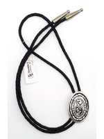 Double s Oval Rope Bolo Tie 22806