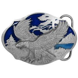 Siskiyou Gifts Flying Eagle Enameled Belt Buckle AG33E
