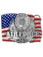 Siskiyou Gifts Air Force Enameled Belt Buckle C92E